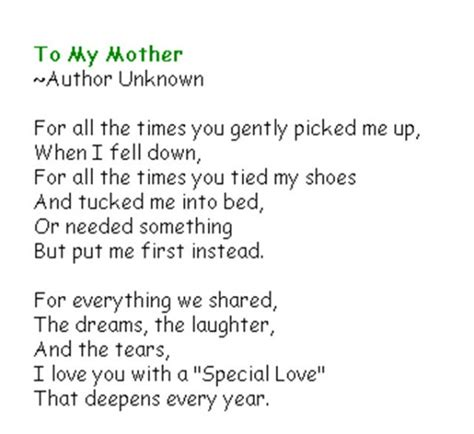 spanish mothers day poems inspirational mothers day poems date sunday may 10th