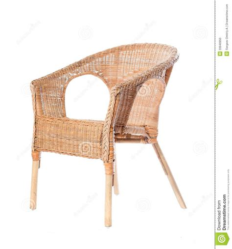 comfortable wicker chairs comfortable wicker chair in a studio stock photo image
