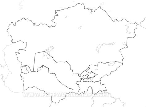 fill in the blank map of asia popular blank central asia map emaps world