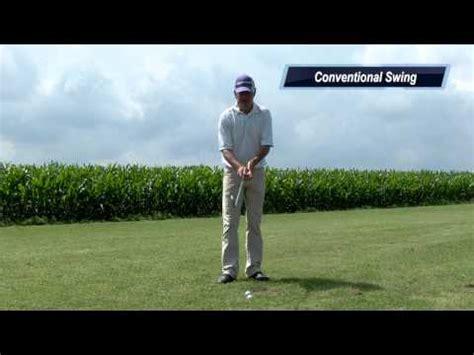conventional swing single plane golf swing vs conventional golf swing golf