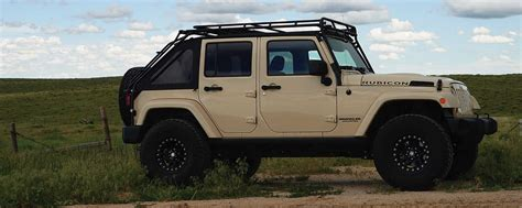 jeep gobi color gobi roof racks jeep wrangler jk45 stealth rack