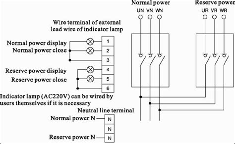 100 manual transfer switch wiring diagram 100 free