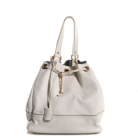 Yves Laurent Faubourg Tote by Yves Laurent Leather Overseas Faubourg Tote White 85169