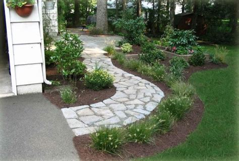 Sidewalk Landscaping Ideas 13 Walkway And Path Landscape Ideas To Walk In A Style Top Inspirations