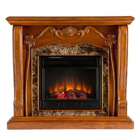 Homedepot Electric Fireplaces by Southern Enterprises Cardona 45 In Electric Fireplace In