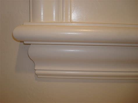 Window Sill Bullnose Edge Paint Grade Window Sill With 4 Inch Crown And Bullnose