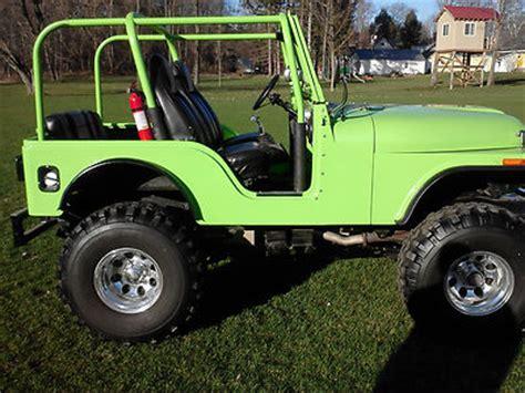 Lime Green Lifted Jeep Jeep Cj Lifted Jeep Cj5 Fiberglass Lime Green For