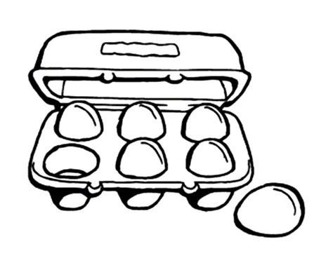 coloring page egg carton drawn egg egg carton pencil and in color drawn egg egg