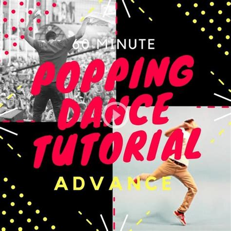 tutorial dance popping popping dance tutorial bundle pack with over 240 minutes