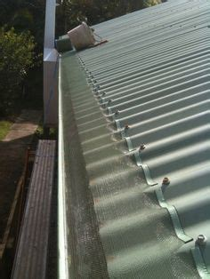 looking for 6 b 8 metal roof aluminum mesh gutter protection the curved surface helps
