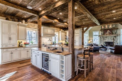 this beautiful yet rustic freestanding post and beam home decorating house beautiful and remodeling ideas