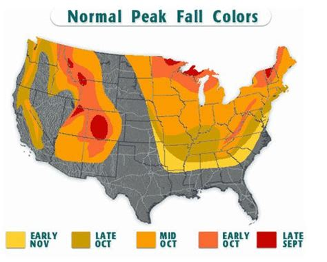 fall color map fall foliage maps pagosa springs journal