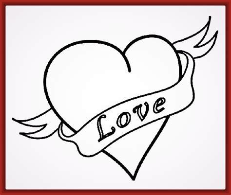 imagenes de un te amo grande imagen de un corazon grande para colorear archivos fotos