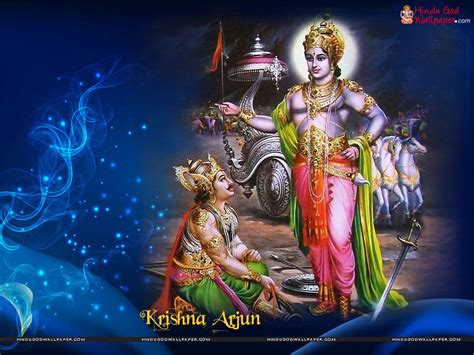 krishna themes free download for pc lord krishna arjuna wallpapers krishna arjun wallpapers
