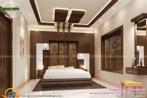 Kitchen And Bedroom Design Bifurcated Stair Bedroom Kitchen Interiors Kerala Home Design And Floor Plans