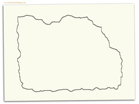 blank pirate map template blank treasure map template