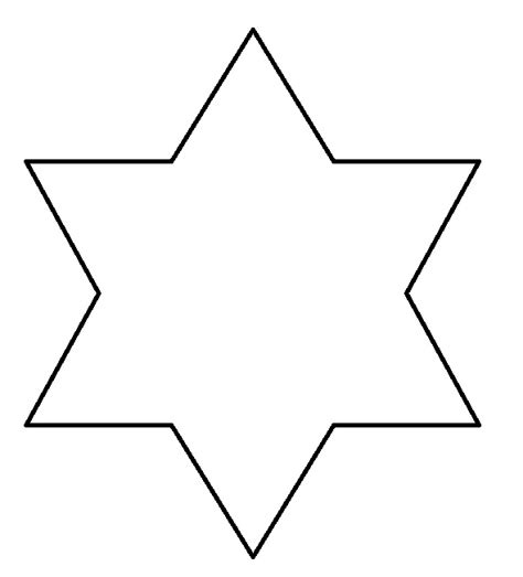 point star color free coloring pages