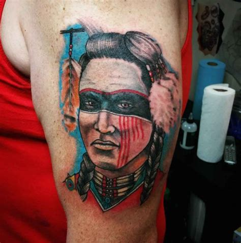 choctaw tattoos choctaw warrior best ideas gallery