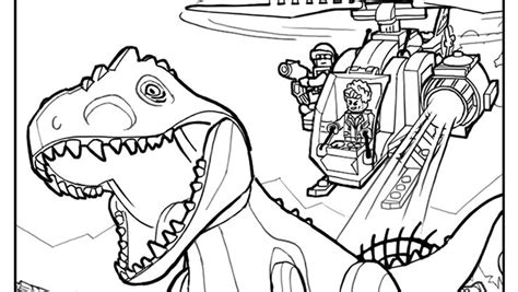 printable coloring pages jurassic world lego coloring page 1 lego 174 coloring sheets pinterest