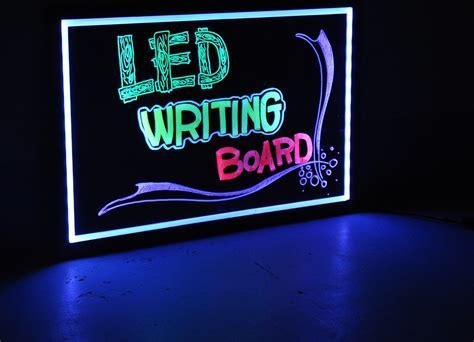 Led Writing Board led writing board 40 x 60 cm link world