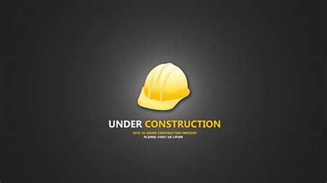 templates for website under construction under construction web page template download