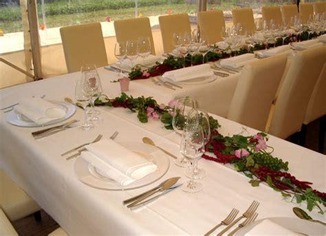 Festliche Tischdekoration Hochzeit by Die Blumerie Hochzeiten Tischdekorationen