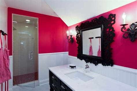 pink and black bathroom sets how to create a feminine bathroom interior d 233 cor