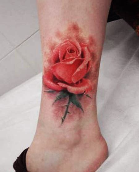 foot rose tattoo designs 1887tattoos beautiful flower tattoos