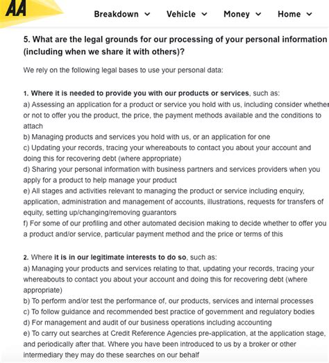 Gdpr Exle Privacy Policies And Consent Forms Data Protection Declaration Template