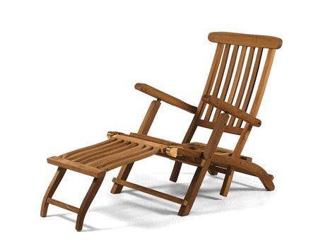 Teak Steamer Chair by Deluxe Teak Steamer Teak Garden Furniture