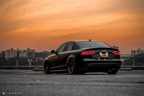 audi s4 slammed spotlight slammed b8 audi s4 on ag m621 wheels