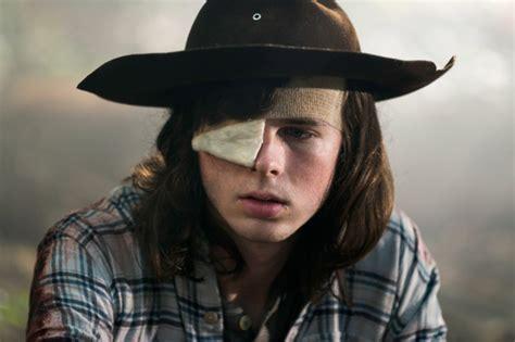 The Walking Dead Carl Grimes Poncho the walking dead season 8 how carl grimes dies