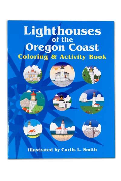 coloring book oregon coast images lighthouses of the oregon coast coloring book book 1