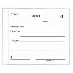 Template For Receipt by 5 Receipt Templates Excel Pdf Formats