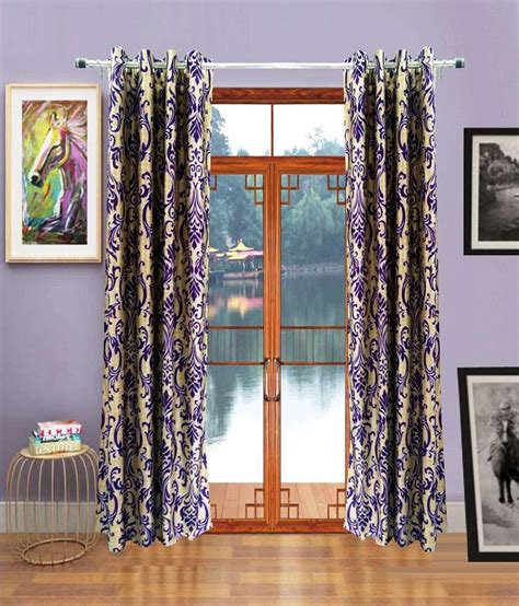 window curtains india homefab india purple natural polyester window curtain 2