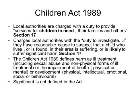 what is section 17 mental health act child protection ppt video online download