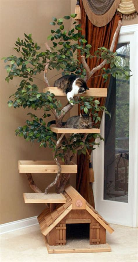 The 25 Best Ideas About Homemade Cat Trees On Pinterest How To Keep Cats Outdoor Furniture