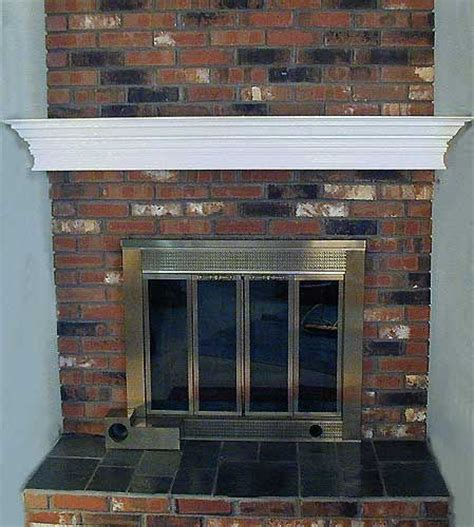 fireplace mantel brick mantels brick fireplace mantel project finds