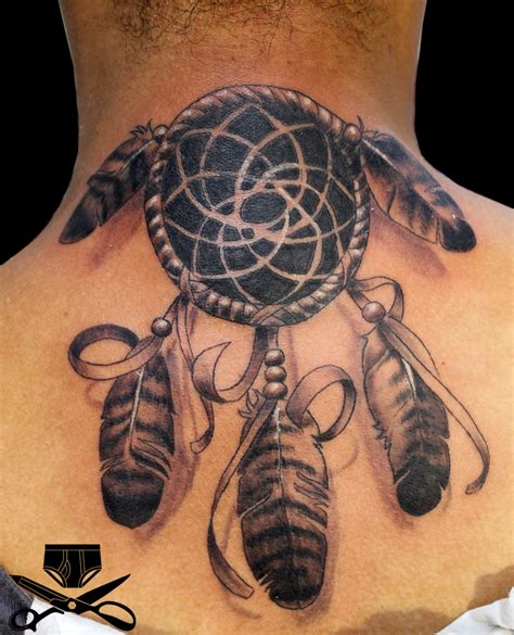 dreamcatcher tattoos for men catcher hautedraws