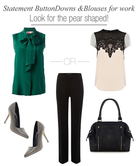 clothes for pear shaped how to pick a dress for your workwear week statement button downs and blouses pear