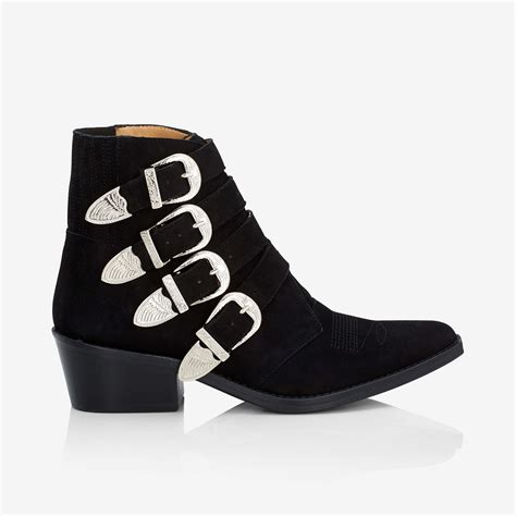 buckle boots for toga pullas western multi buckle boot minimal nordic