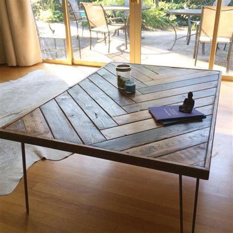 Herringbone Coffee Table Herringbone Coffee Table