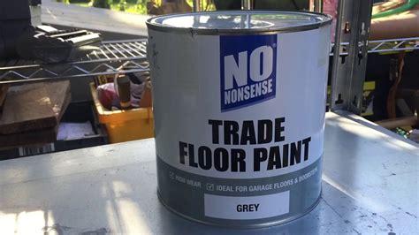 Screwfix trade floor paint   YouTube