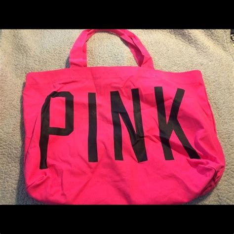New Longch Neo Pink Small nwt xl vs pink tote bag brand new neon pink vs pink large tote bag a wrinkly and needs