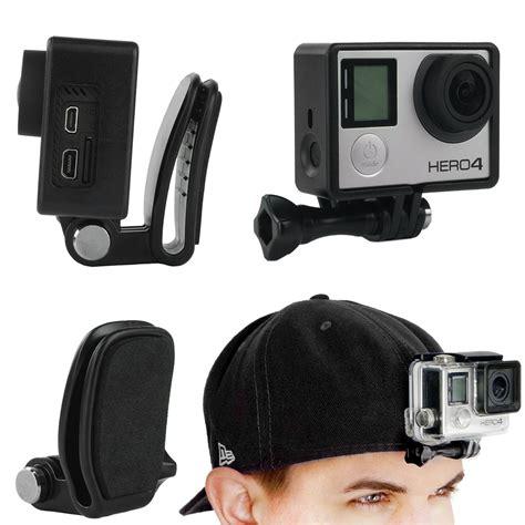 Clip Gopro gopro adjustable mount hat clip mount