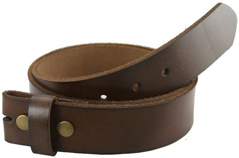 bs121 brown genuine leather belt 1 1 2 quot wide