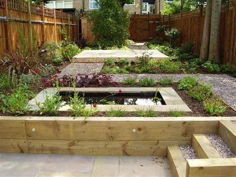 Low Maintenance Garden Design With Split Level Tim Mackley | split level low maintenance garden tim mackley garden