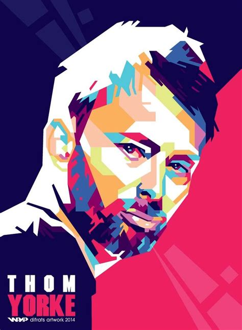 Thom Yorke Radiohead In Wpap pin by difrats artwork on wpap