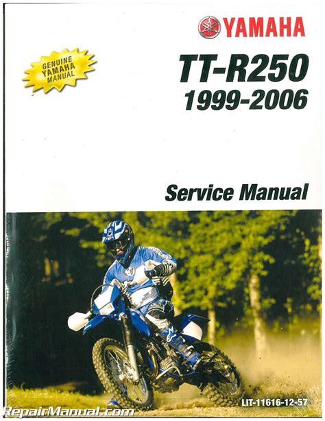 1999 2006 Yamaha TTR250 Motorcycle Service Manual