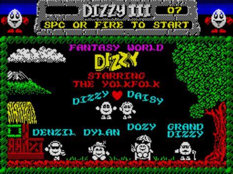 emuparadise zx spectrum dizzy iii fantasy world dizzy 1989 codemasters 128k rom